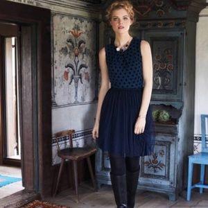 Anthropologie Sasonger Tulle Dress - Medium
